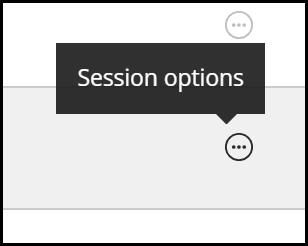 Session Options indicator