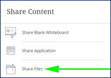 share content window