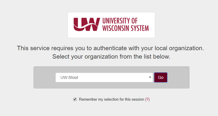 UW Systems Page