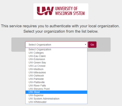 Select Organization