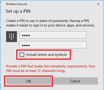 Create Your PIN Number