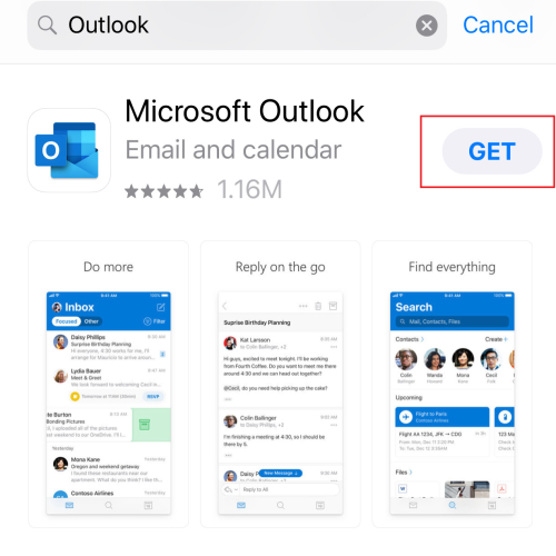Search for Outlook