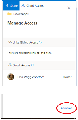 manage access window