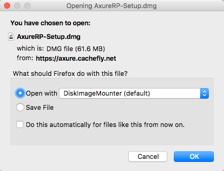 Axure download for Mac