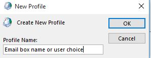 Email Profile