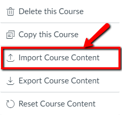 Canvas Import course content image