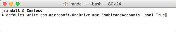 OneDrive Configuration 2
