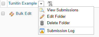 View Submissions option in Dropbox